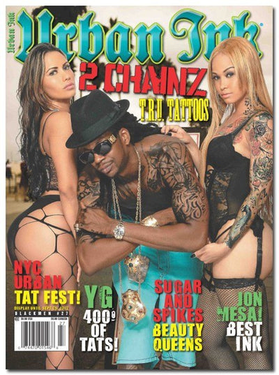 Urban Ink: September 2012 - 2 Chainz - www.inkedshop.com