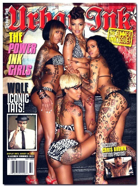 Urban Ink: August 2013 - The Power Ink Girls - www.inkedshop.com