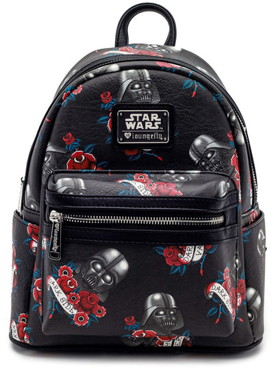 Star Wars: Darth Vader Tattoo Flash Mini Backpack by Loungefly