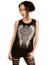 "Women's ""Valkyrie"" Tank by Folter Clothing (Black) - www.inkedshop.com"