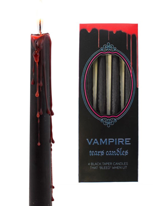 """Vampire Tears"" Candles (Pack of 4)"
