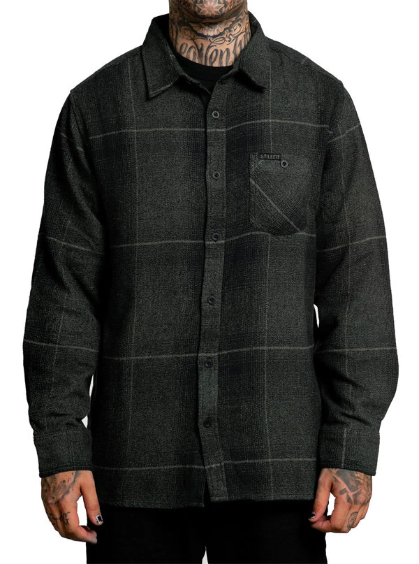 Men's Vapor Flannel by Sullen