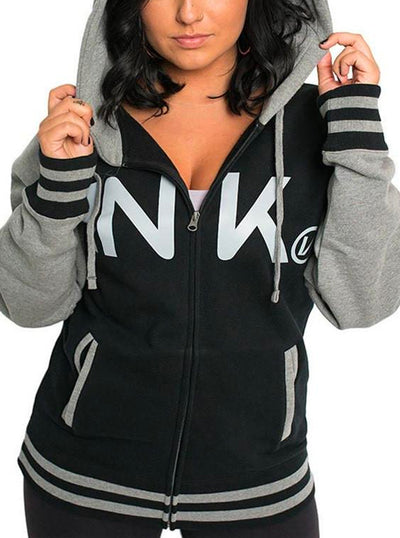 Unisex Varsity Zip-Up Hoodie by InkAddict (More Options)
