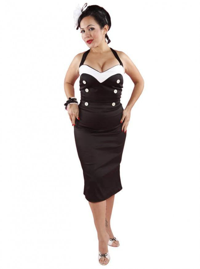 "Women's ""Va-Va-Voom"" Wiggle Dress by Pinky Pinups (More Options) - www.inkedshop.com"