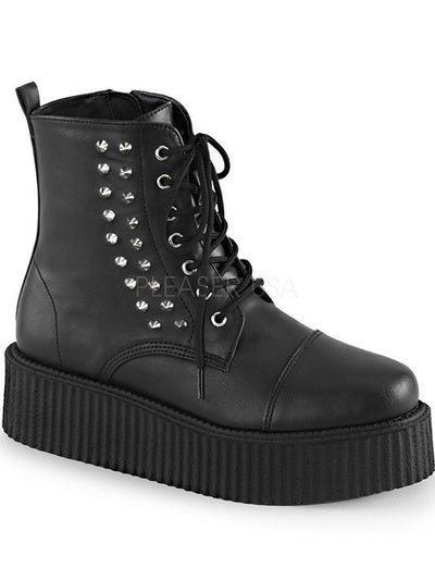 """The V Creeper"" by Demonia (Black) - www.inkedshop.com"