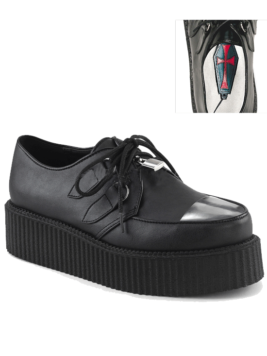 Women's V Creeper 515 by Demonia