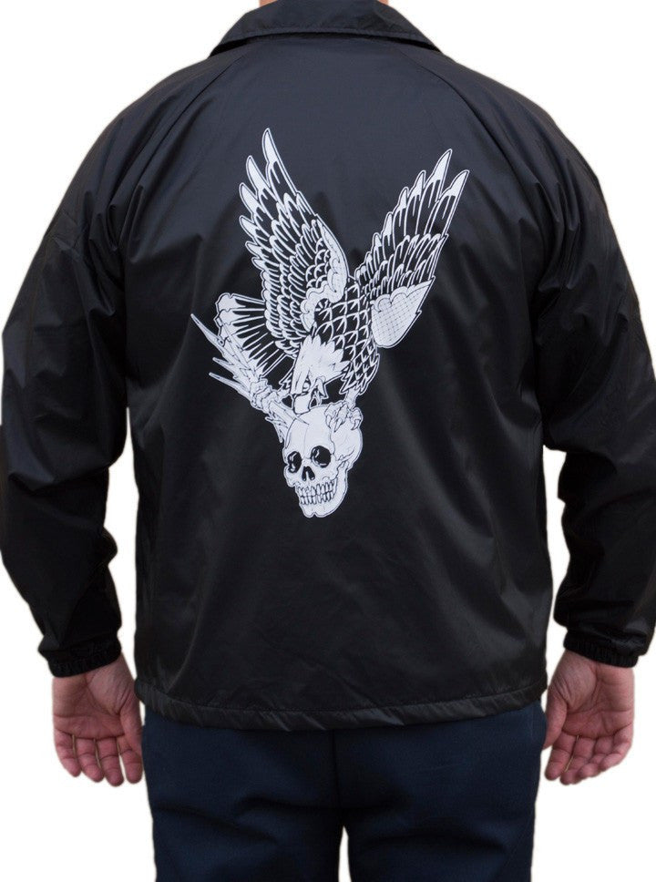 "Men's ""Vengeance"" Wind Breaker by Black Market Art (Black) - www.inkedshop.com"