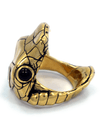 """Venom"" Ring by Han Cholo (Gold Tone) - www.inkedshop.com"