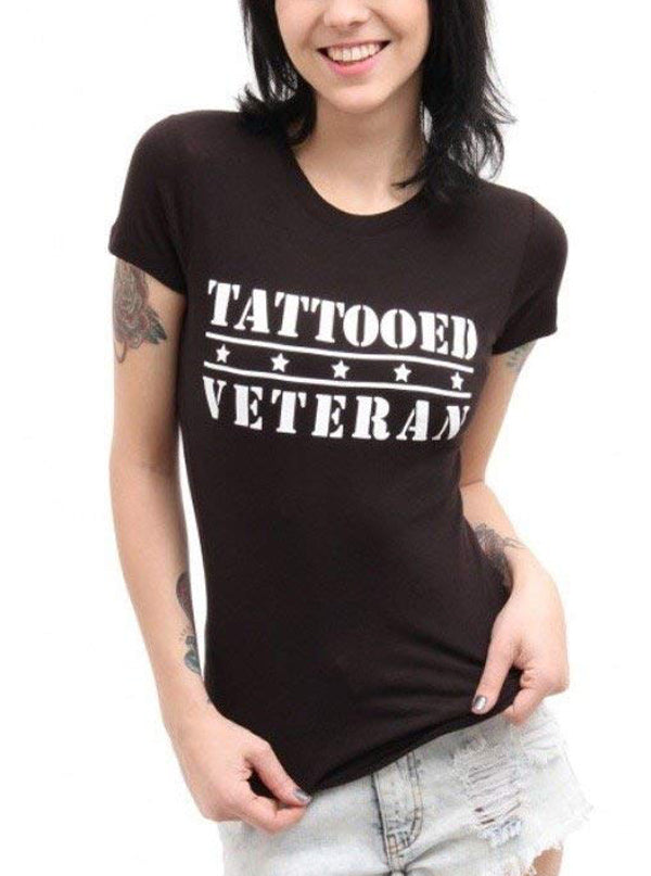 Women's Tattooed Veteran Tee by Steadfast Brand