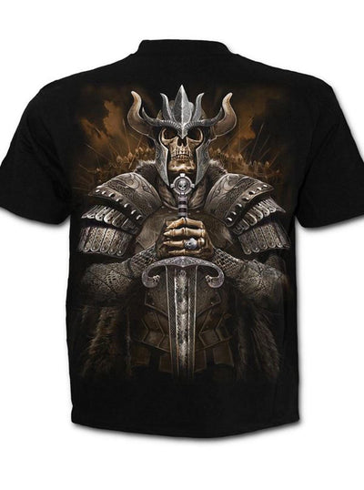 "Men's ""Viking Warrior"" Tee by Spiral USA (Black)"