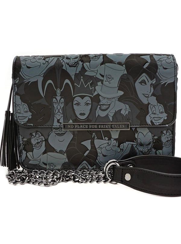 Disney Villains Tassel Cross Body Bag by Loungefly