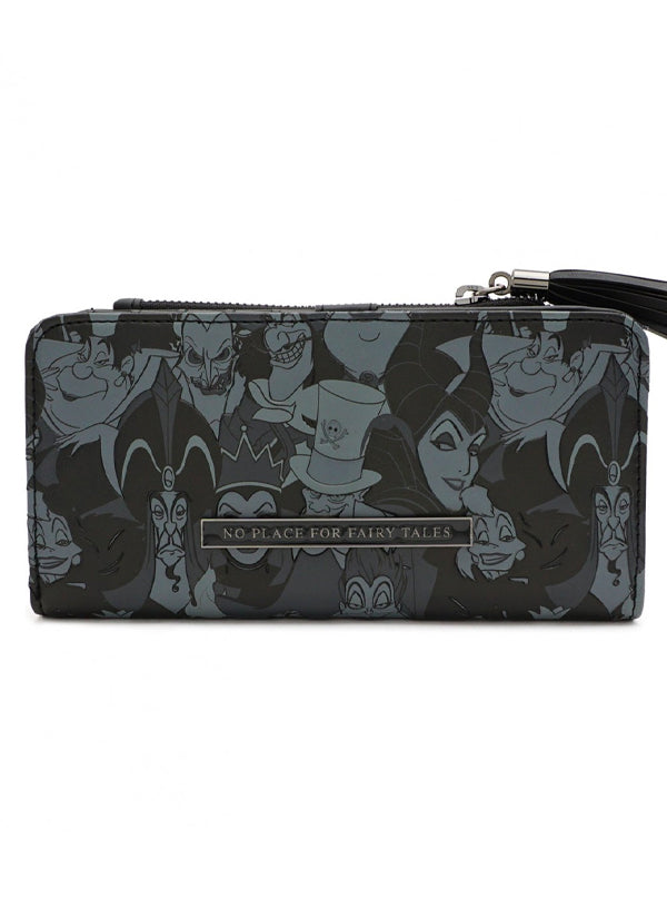 Disney Villains Tassel Wallet by Loungefly
