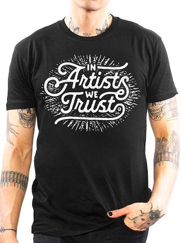 Men's Vintage Logo Tee by In Artists We Trust