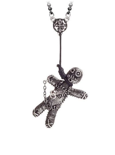 """Voodoo Doll"" Pendant by Alchemy of England (Pewter) - www.inkedshop.com"
