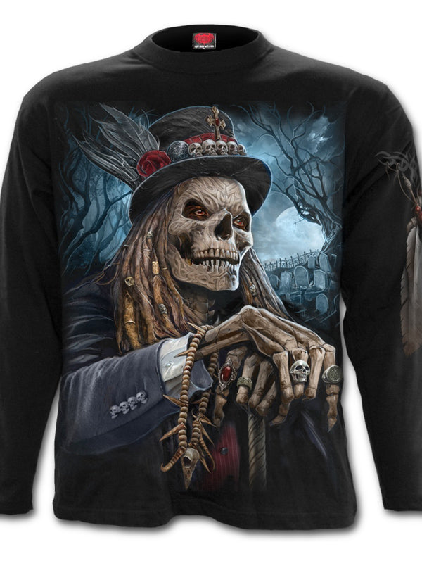 Men's Voodoo Catcher Long Sleeve Tee by Spiral USA