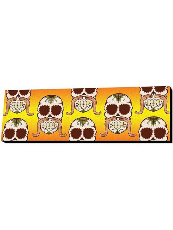 Skull Mustache Wall Art by Lamp in A Box (More Options) - www.inkedshop.com