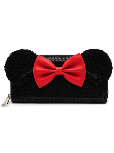 Minnie Sequin Wallet by Loungefly