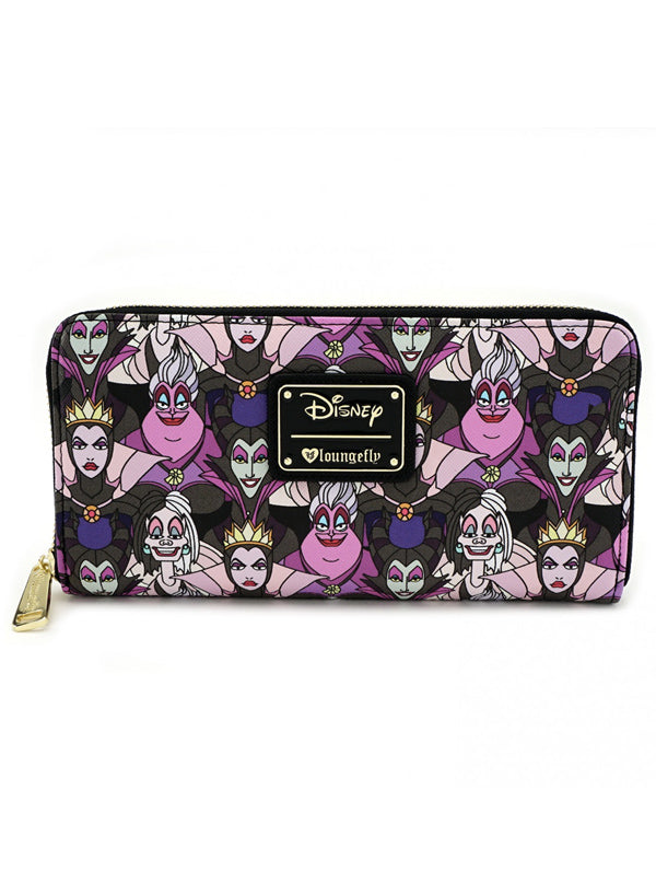 Disney Villain Print Wallet by Loungefly