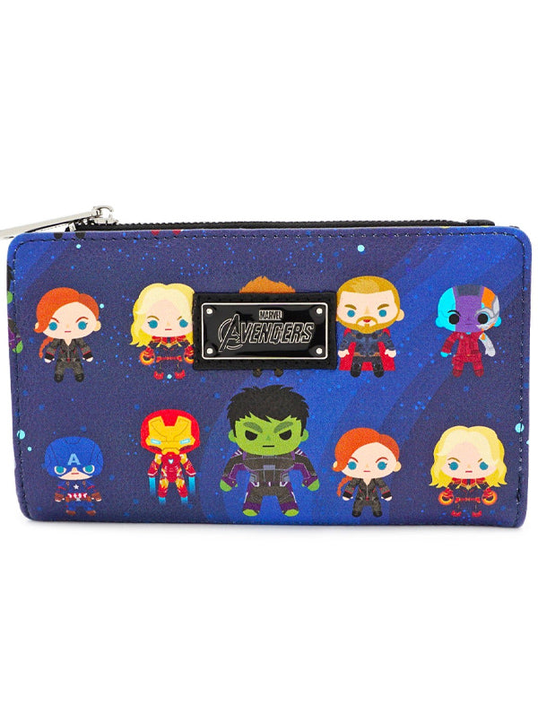 Marvel: Avengers Endgame Chibi Print Wallet by Loungefly
