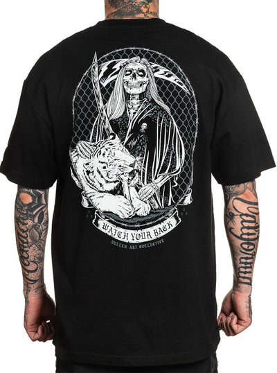 Men's Watch Your Back Tee by Sullen