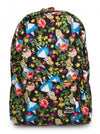 """Alice in Wonderland"" Backpack by Loungefly (Black) - www.inkedshop.com"