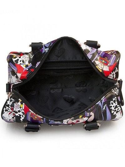 """Disney Villains"" Pebble Duffle by Loungefly (Black) - www.inkedshop.com"