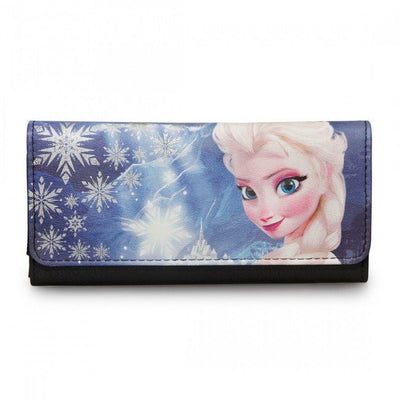 Frozen Elsa Photo Real Canvas With Faux Leather Wallet by Loungefly - www.inkedshop.com