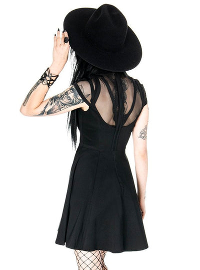 "Women's ""Wednesday"" Dress by Restyle (Black)"
