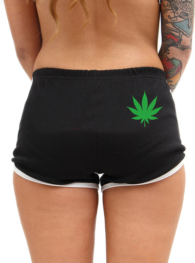 Women's Sweet Leaf Shorts by Pinky Star