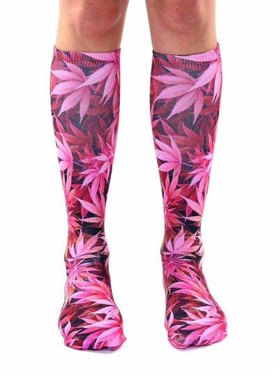 """Weed"" Knee High Socks (More Options) - www.inkedshop.com"