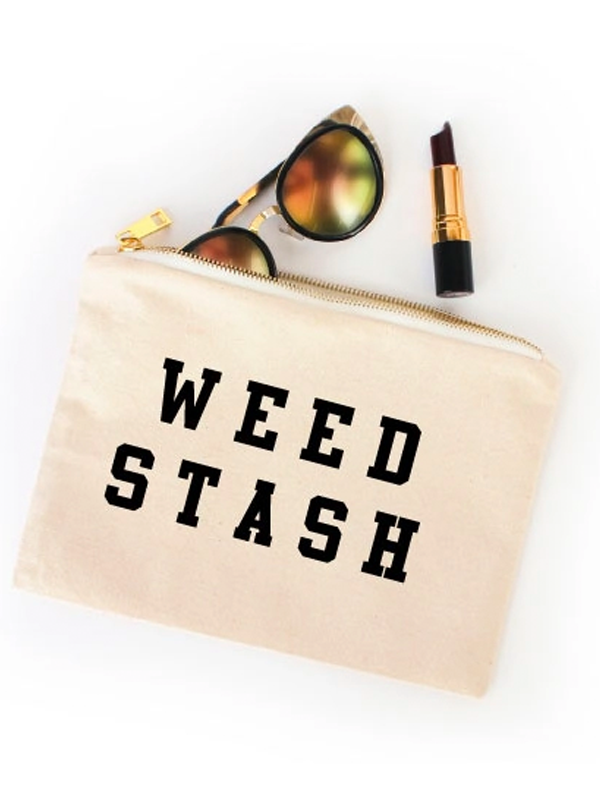 Weed Stash Cosmetic Bag