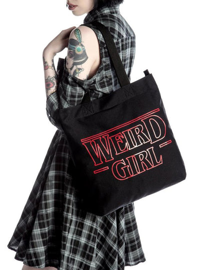 Weird Girl Shopper Tote by Killstar