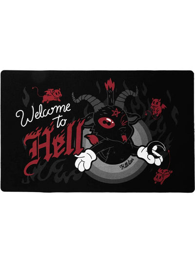 Welcome To Hell Doormat by Killstar