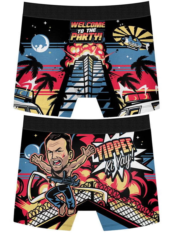 Men's Welcome To The Party Boxer Briefs by Harebrained!