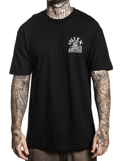 "Men's ""Wheelie"" Tee by Sullen (Black)"