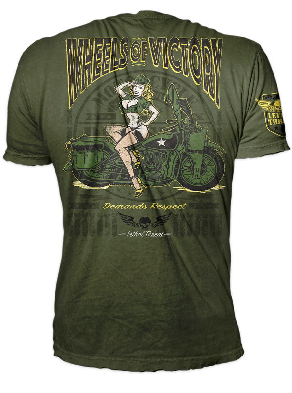 Men's Wheels of Victory Tee by Lethal Threat