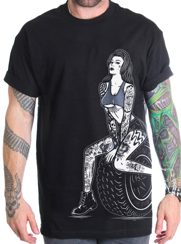 Men's New Wheels Tee by Fatal Clothing