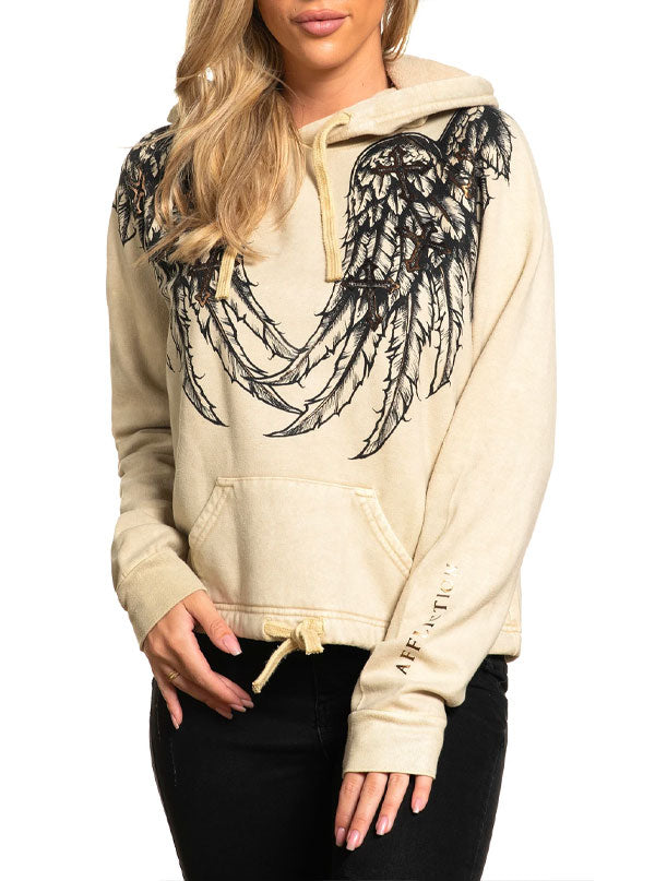 Women's Whispering Thoughts Hoodie by Affliction