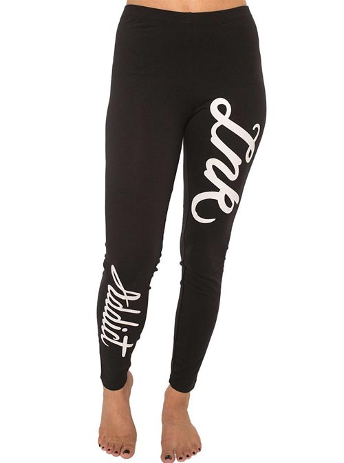 "Women's ""INK Script"" Leggings by InkAddict (More Options)"