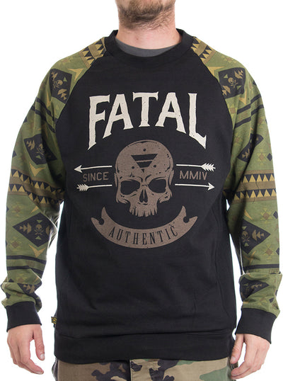 Unisex Will Tell Crewneck Sweatshirt by Fatal Clothing