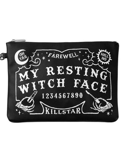 Witch Face Makeup Bag by Killstar