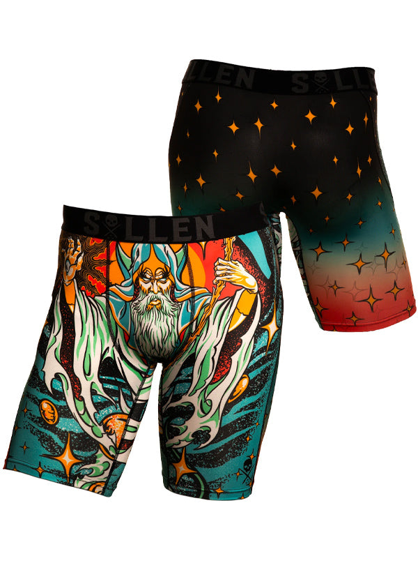 Men's Wizaard Boxers by Sullen