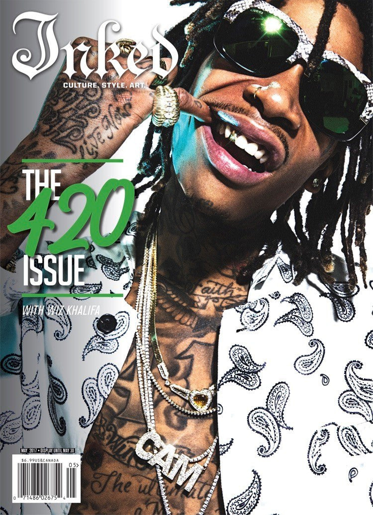 Inked Magazine 420 Edition Featuring Wiz Khalifa - May 2017