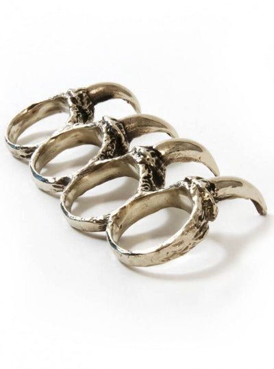"Men's ""Wolf Claws"" Ring by Aileyan (More Options) - www.inkedshop.com"