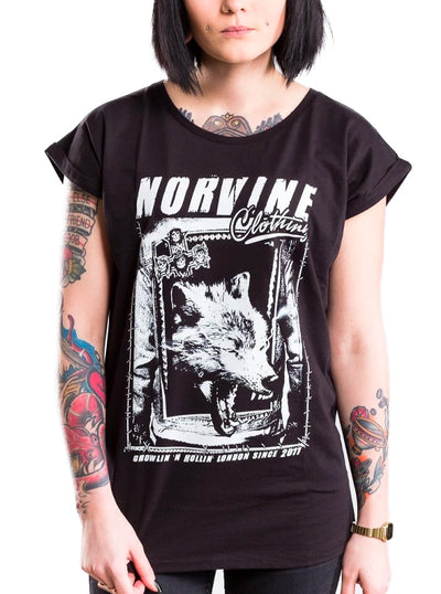 Women's Wolf Tee by Norvine