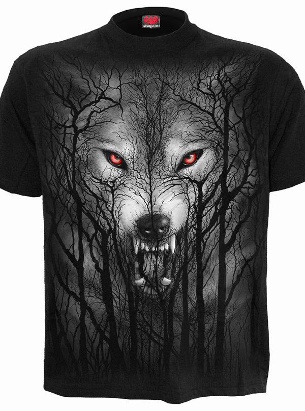 Men's Forest Wolf Tee by Spiral USA