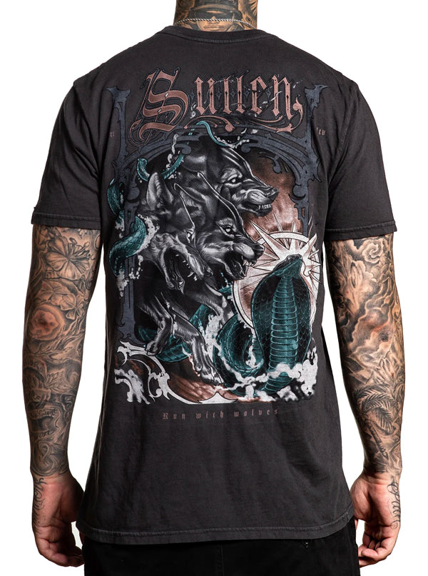 Men's Wolf Paq Tee by Sullen