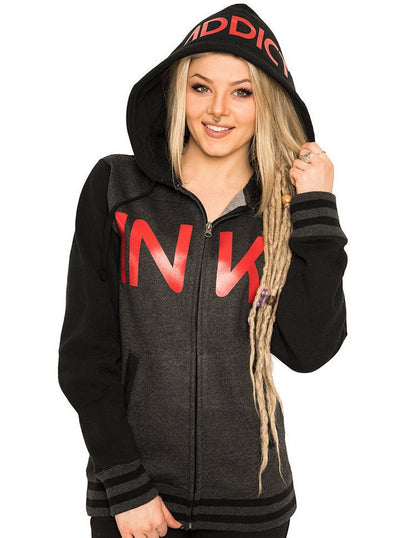 "Unisex ""Varsity"" Hoodie by InkAddict (More Options) - www.inkedshop.com"