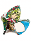 """Wonderland"" Heels by Taylorsays (Green) - www.inkedshop.com"
