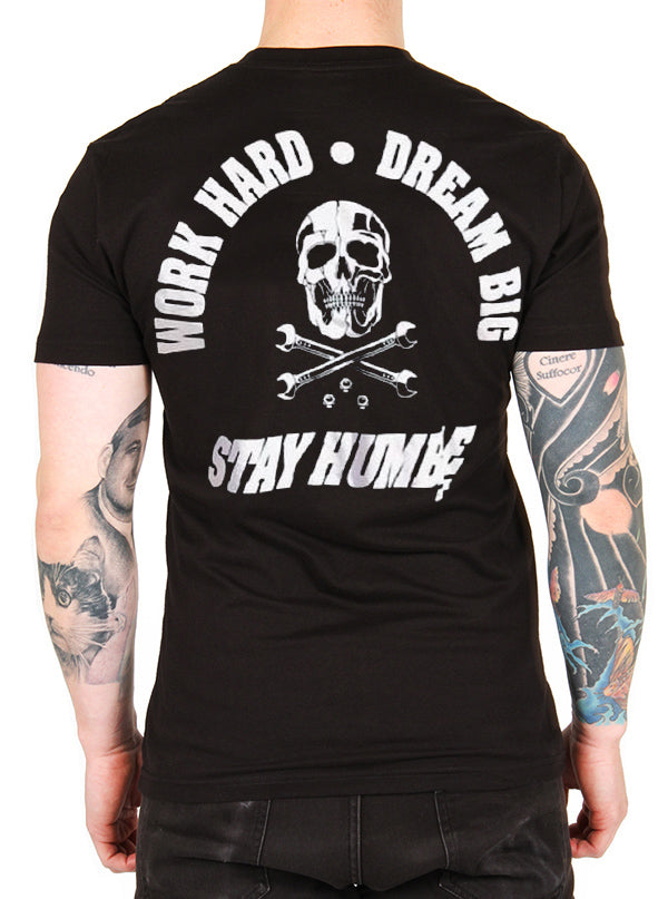 Men's Work Hard, Dream Big, Stay Humble Tee by Cartel Ink